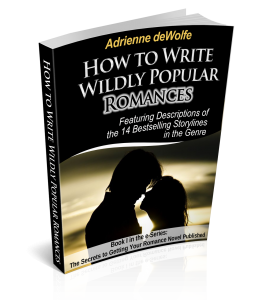 E-book for fiction writers who want to sell Romance novels