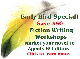 Enroll early and save $50 on novel writing classes