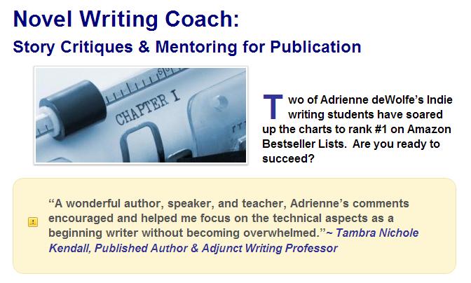 Novel Writing Coach, story critiques, manuscript critiques