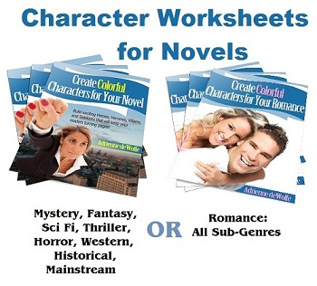 Character Worksheets for Fiction Heroes, Villains, and Sidekicks