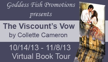 The Viscounts Vow by Collette Cameron, Regency Romance, Gypsy Customs, Roma Customs