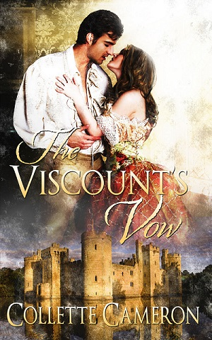 Collette Cameron, author of The Viscount's Vow, a Regency Romance, marriage of convenience, gypsy customs